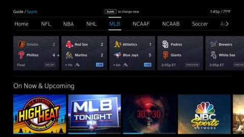 Rally for the Red Sox with Xfinity X1 and MLB Network