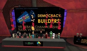 Comcast Partners with Democracy Builders, FCC, Facebook, Qualcomm Technologies and Cox for Innovative VR High School Debate